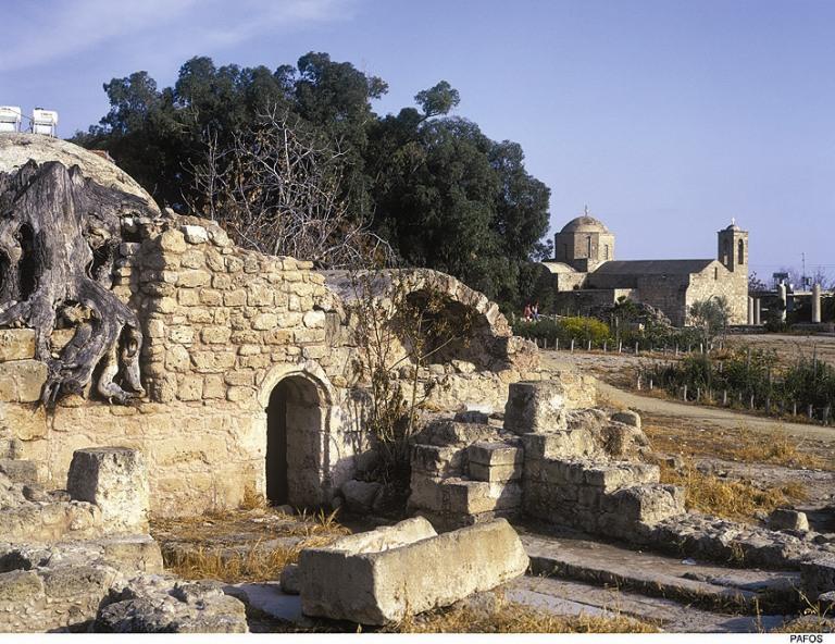 Le rovine di Paphos