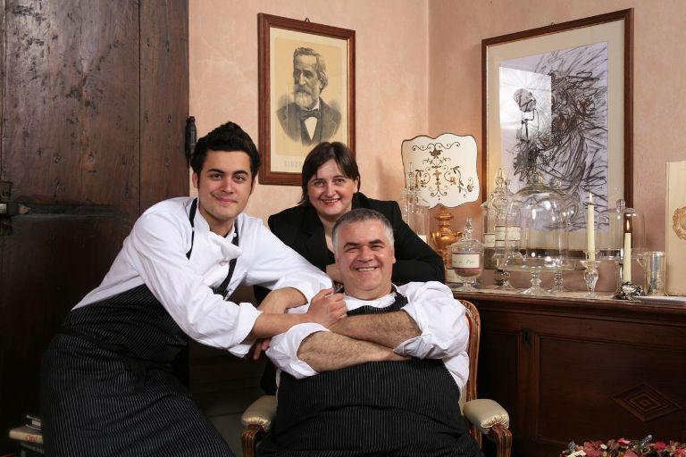La famiglia del Rigoletto al completo