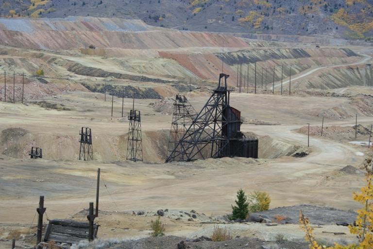 Butte e le miniere