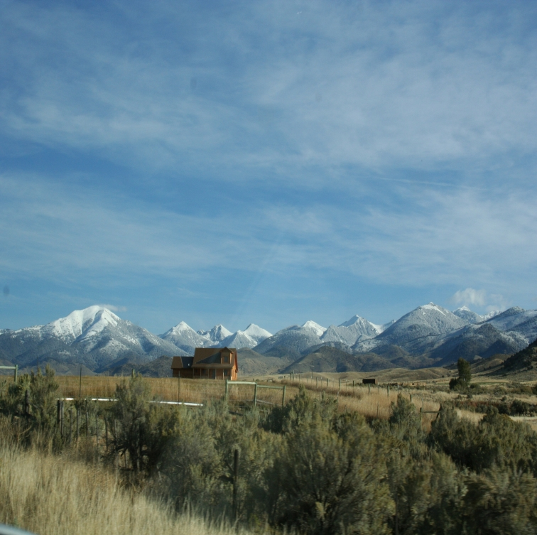 Il big sky del Montana