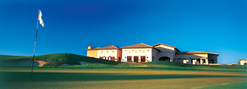 La Club House del campo da golf di Aphrodite