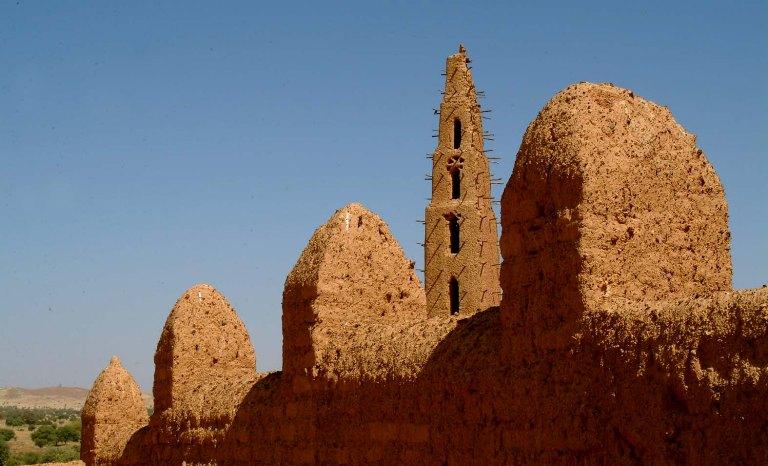 Un tempio ai limiti del deserto (foto di Bruno Murialdo)