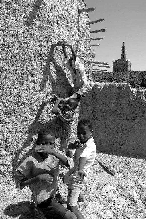 Bimbi che giocano (foto di Bruno Murialdo)