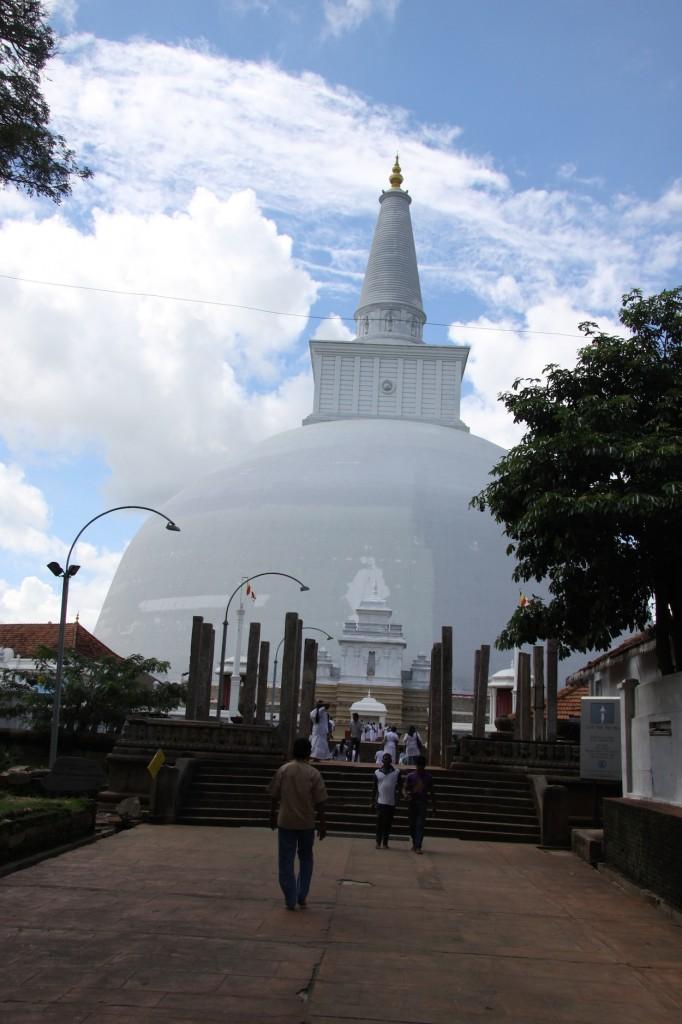 Caratteristica stupa singalese