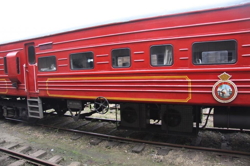 Treno che attraversa Nuwara Eliya