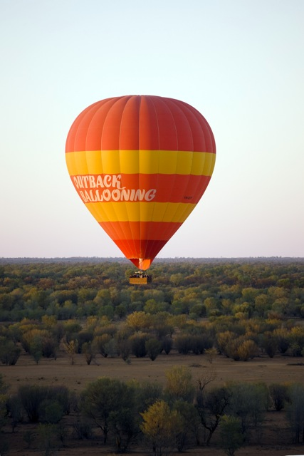 Baloon sull'outback