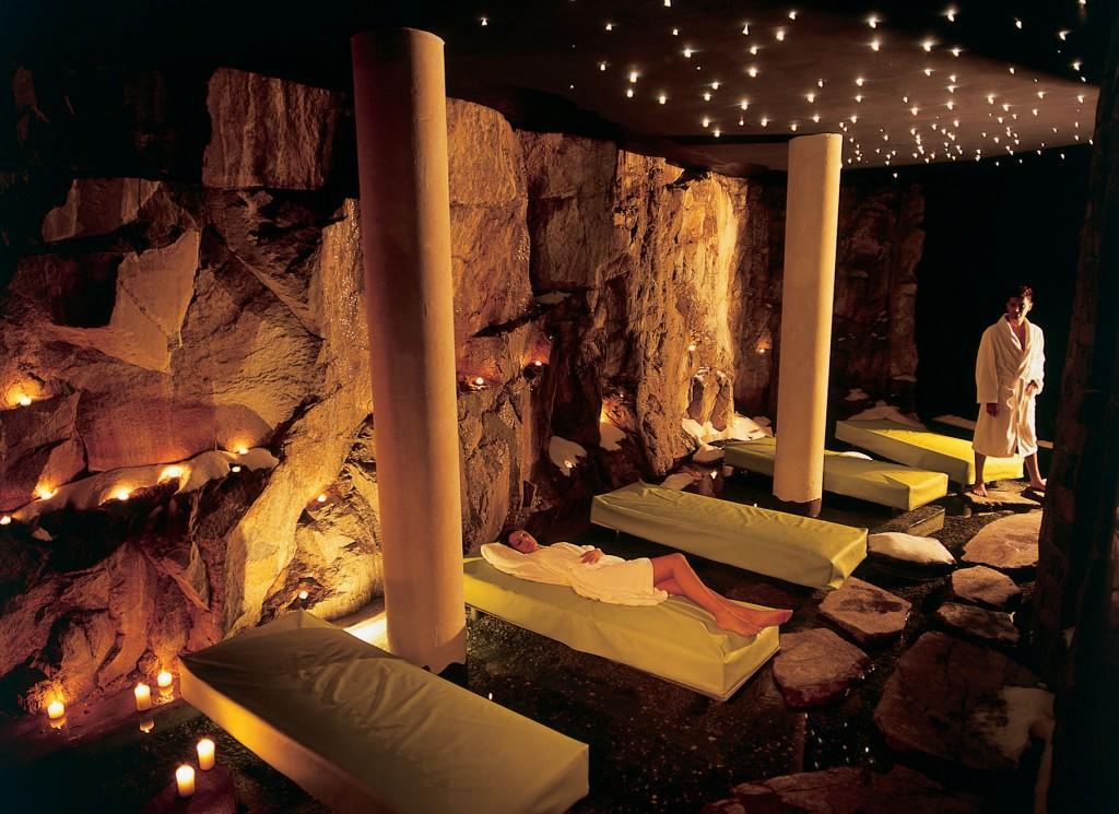 Romantik Turm, grotta di sale
