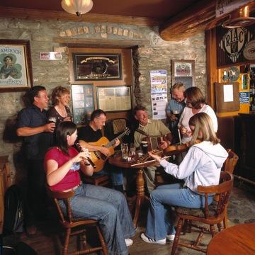 Contea di Clare - Dentro un Pub