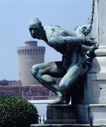 Livorno, Statua dei 4 mori