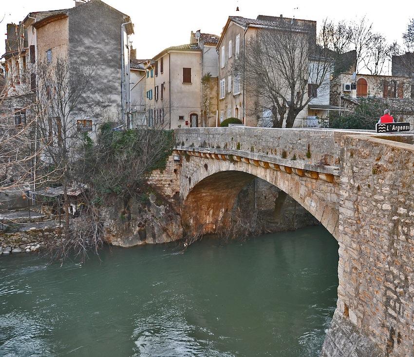 Il ponte di Correns