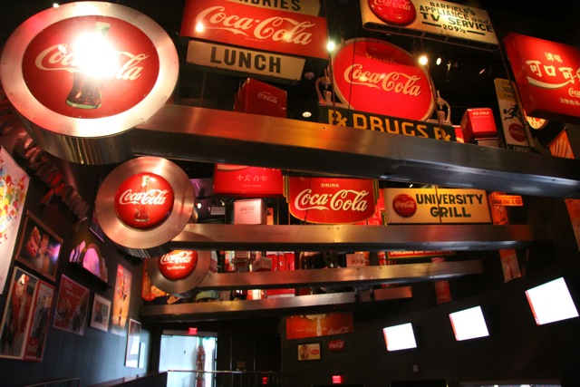 Dentro il Coca Cola World
