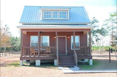Folkston, il Cabin del Newell Lodge