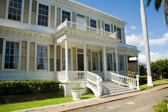 La facciata di Devon house