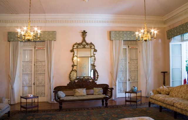 L'interno di Devon House
