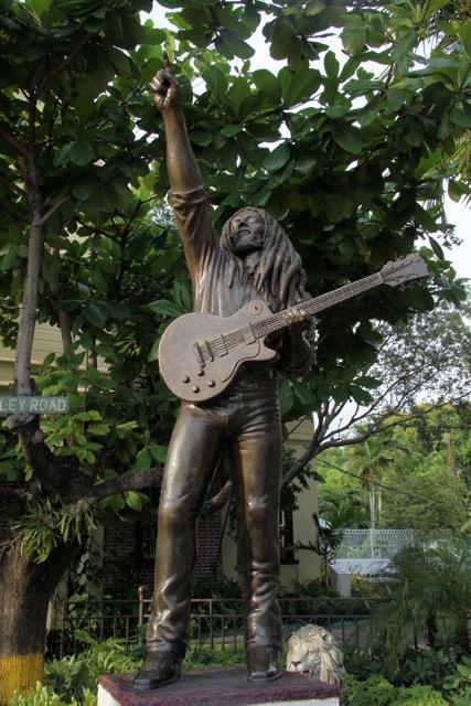 La statua al Museo di Marley