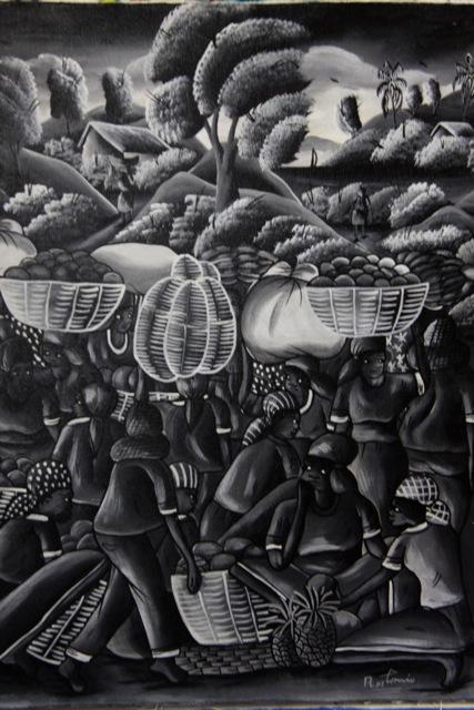 Un 'raro' quadro in bianco e nero