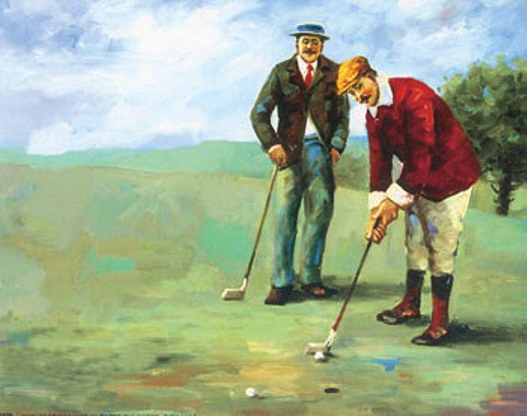 Il golf in altri tempi