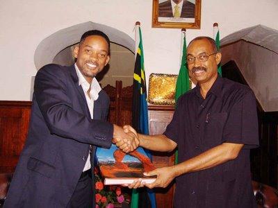 Will Smith a Zanzibar