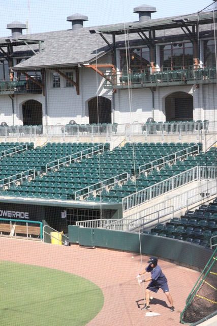 Lo stadio di Montgomery