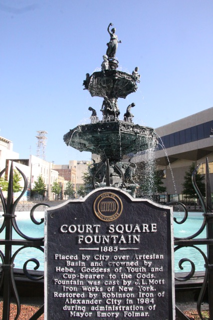 Montgomery, Court Square Fountain