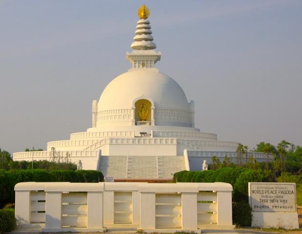 Pagoda della Pace nel mondo a Lumbini