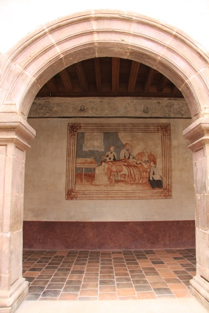 Affresco al Convento francescano di Santa Ana, IMG_0871