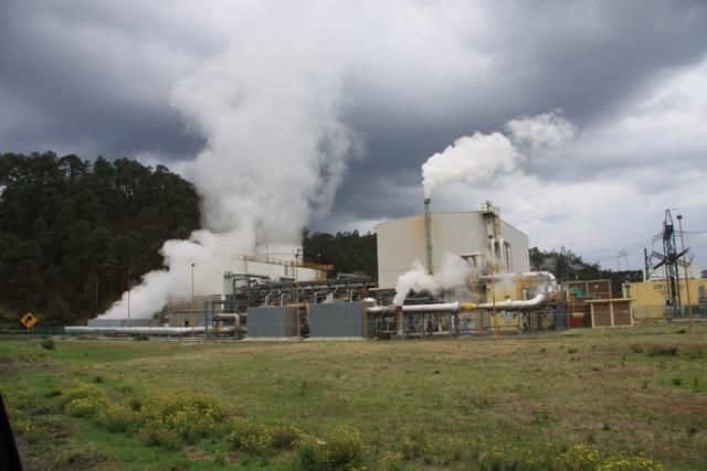 Parco nazionale de Los Azufres, energia incanalata nelle turbine