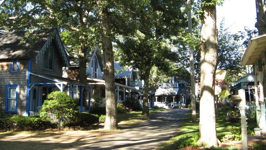 Cottages vittoriani di Oak Bluffs