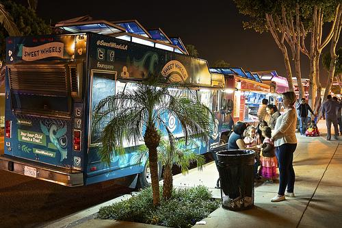 Food trucks di notte