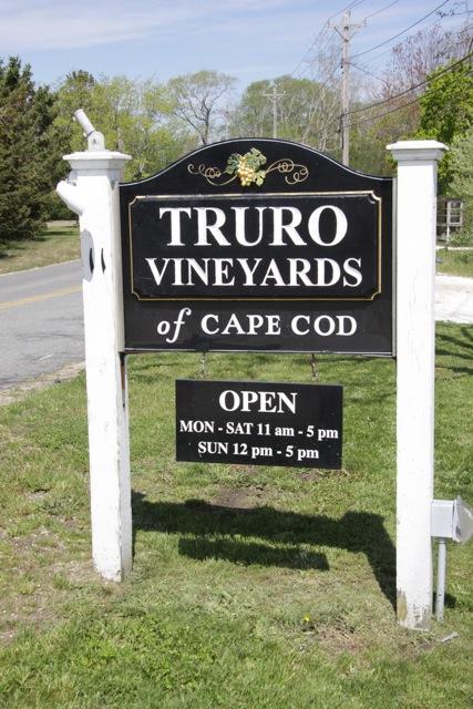 Truro fa ottimo vino a Cape Cod