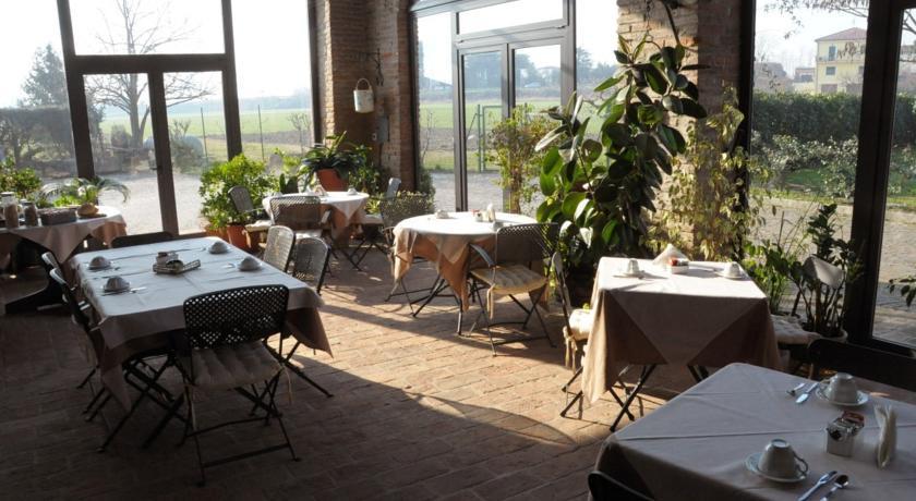 Sala colazione nel cosidetto giardino d'inverno