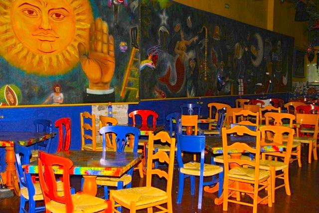 Un locale del centro di Santiago de Queretaro