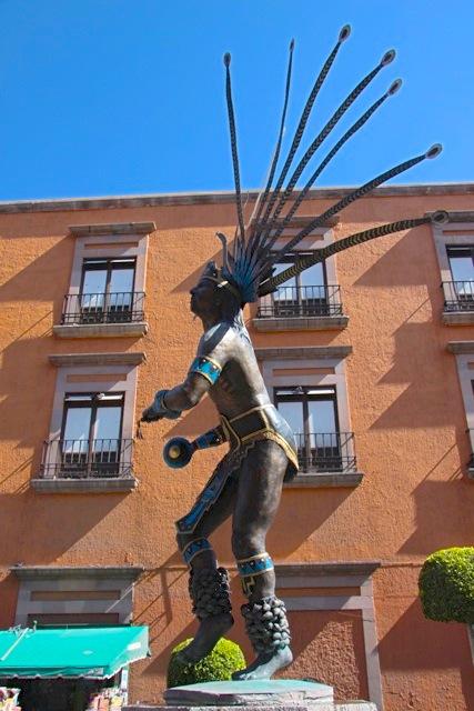 Un monumento agli indigeni Otomies