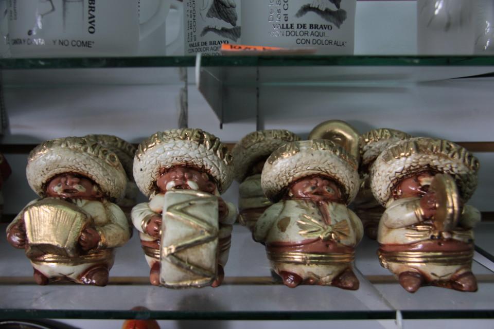I Mariachi in ceramica