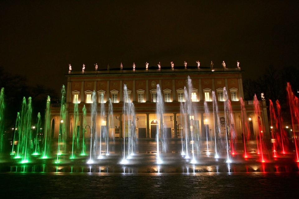 Reggio Emilia di notte