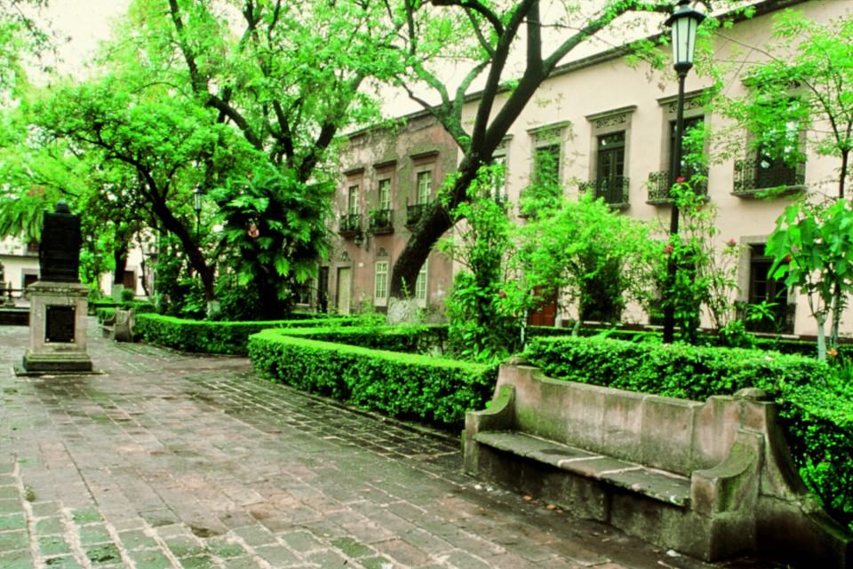 San Miguel De Allende Jardin de las Rosas.
