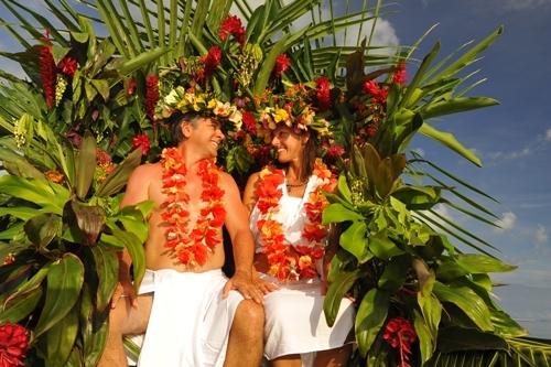 Matrimonio in Polinesia