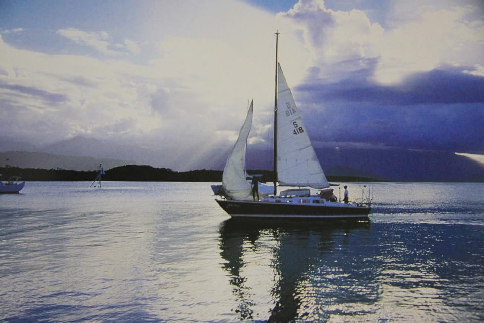 A vela verso Cid Harbour