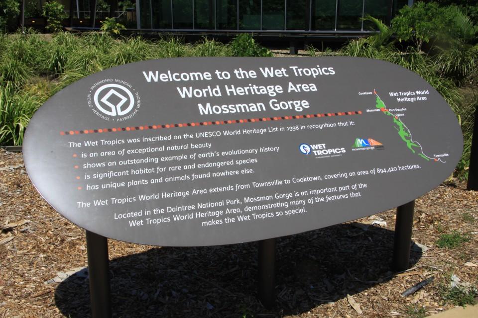 Ingresso del Mossman Gorge