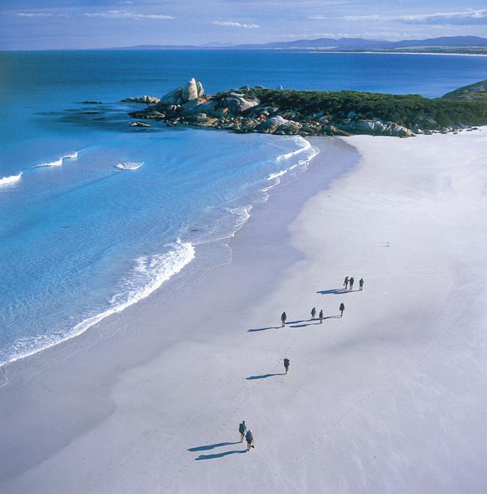 Queensland, la sabbia di silice del Whitehaven Beach