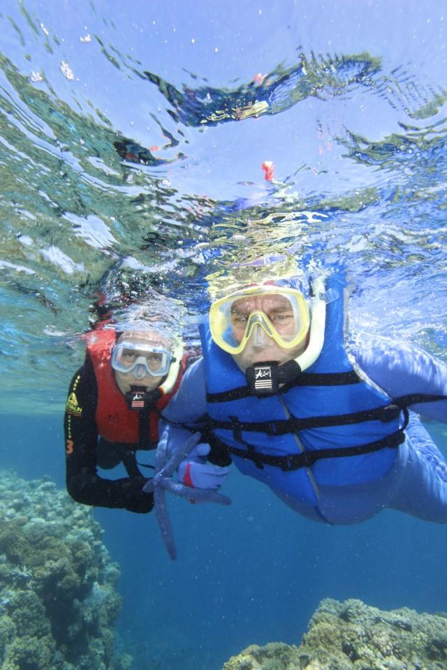 Snorkeling nella Grande Barriera Corallina, tra stelle marine e coralli