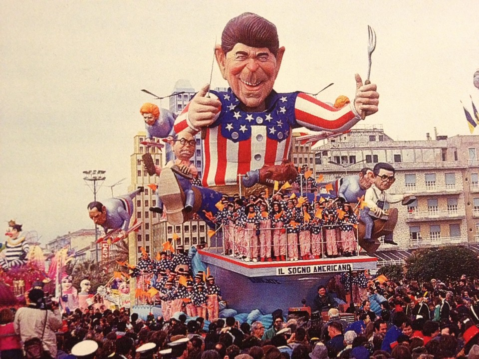 Carro Avanzini 1987 Reagan
