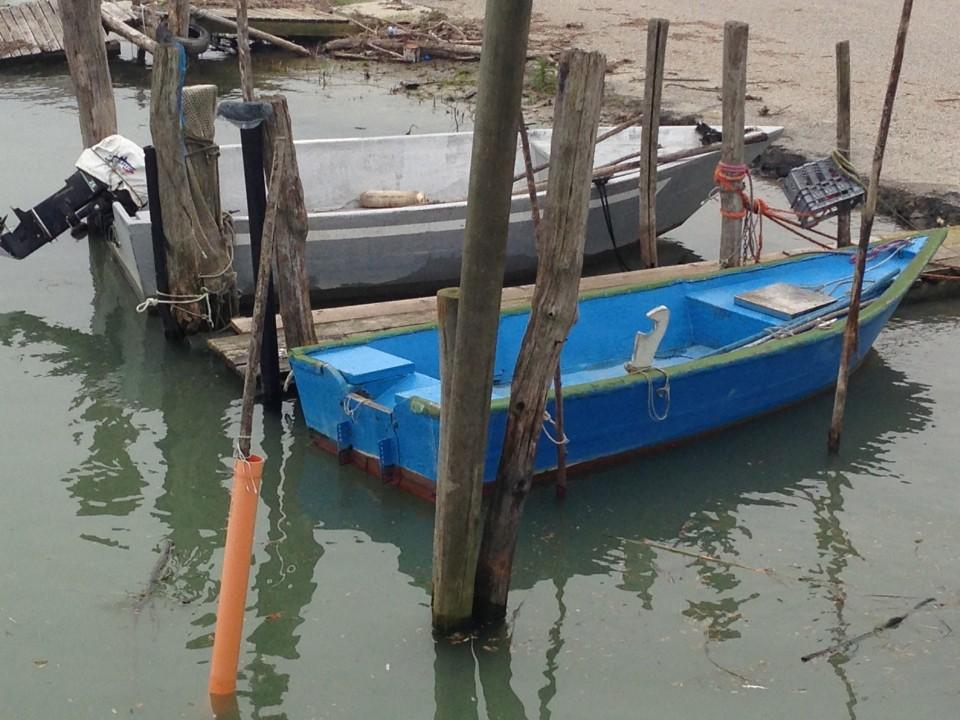 Le barche al porticciolo