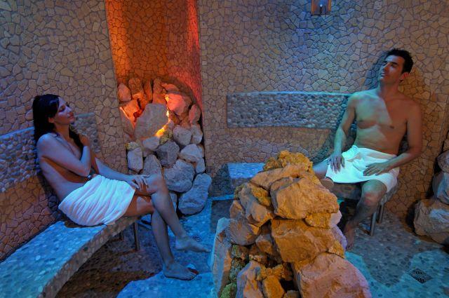 Sauna in grotta