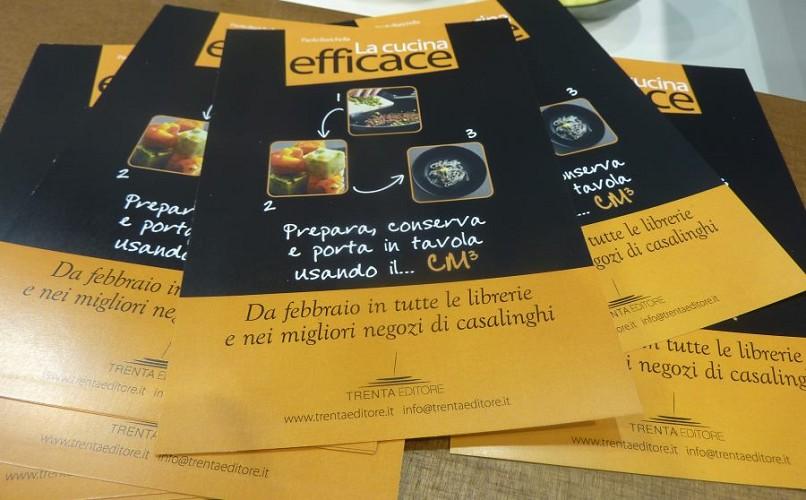 Il lancio del libro La Cucina Efficace