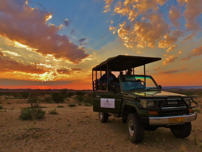 Pronti per il Safari nella riserva del Tutwa