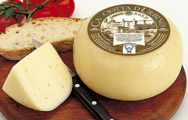 Casciotta d'Urbino, un formaggio che Michelangelo si faceva spedire mentre dipingeva la Cappella Sistina
