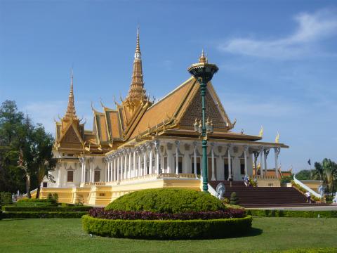 Il Palazzo Reale a Phnom Penh