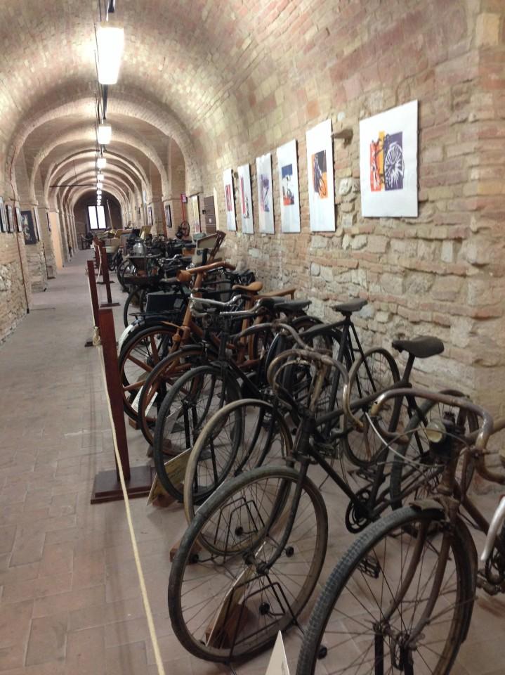 Il primo colpo d'occhio sulle bici