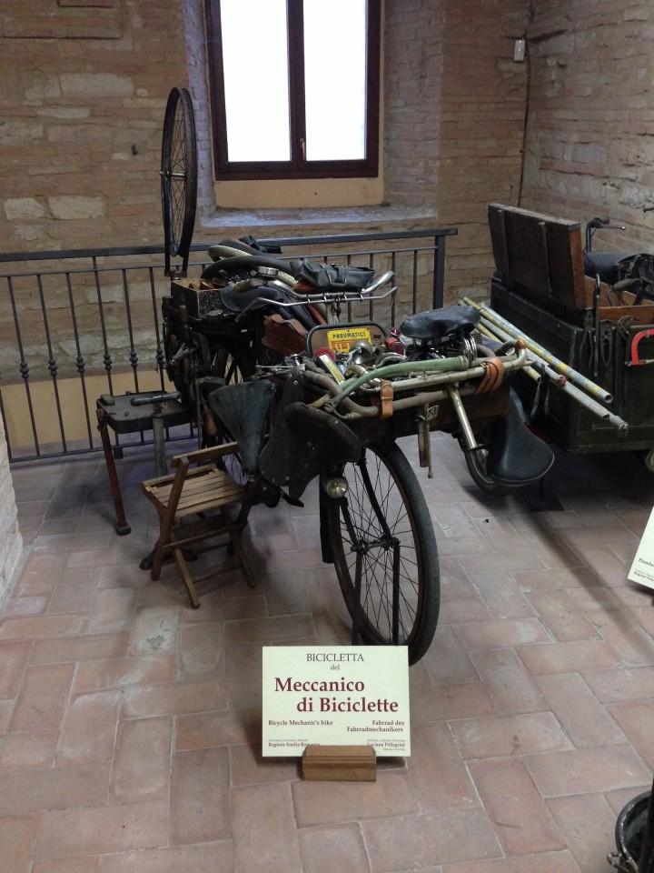 La bici del meccanico di biciclette